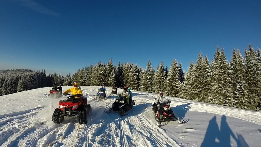 snowmobile bukovel