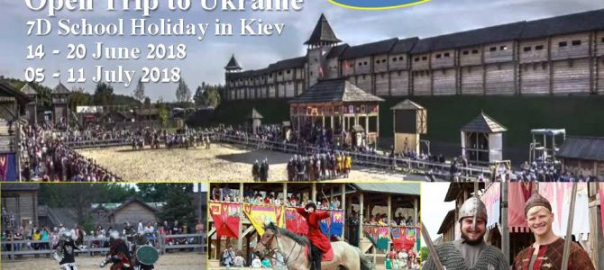 Open Trip School Holiday in Kiev